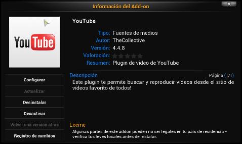 XBMC-Youtube